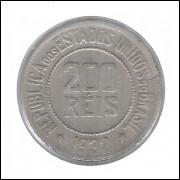 1932 - Brasil, 200 Réis, cuproníquel, mbc+.