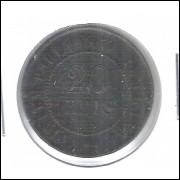 1904 - Brasil, 20 Réis, bronze, mbc.