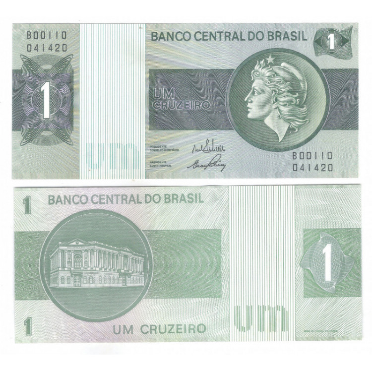 C130 - 1 Cruzeiro, B, 1972, Delfin Netto e Ernâne Galvêas, S/FE.