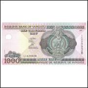 Vanuatu (P.10), 1000 Vatu 2002, FE. Barco.