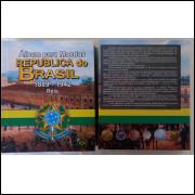 Álbum para moedas do Brasil. De 1889 a 1942. Padrão Mil Réis