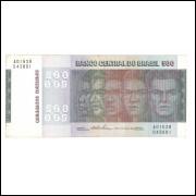 C149 - 500 Cruzeiros, 1974, Estampa A, Mário H. Simonsen e Paulo H. P.Lira, soberba. Raças.