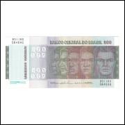 C150 - 500 Cruzeiros, 1974, Estampa B, Mário H. Simonsen e Paulo H. P.Lira, S/FE. Raças.
