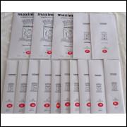 Tiras Protetoras transparentes para selos - Maximaphil - 15 pacotes medidas diferentes.