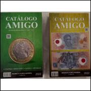 LANÇAMENTO: Catálogo Amigo -  Moedas (1643 a 2021) e Cédulas Brasileiras (1932 a 2021) - 3a edição.