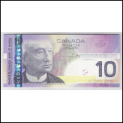 Canada - (P.102Ac) 10 Dollars, 2005 (2007), fe.