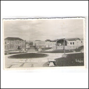 PG04 - Cartão postal antigo, Ponta Grossa, Praça Rio Branco. Photo Weiss.