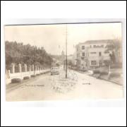 CX01 - Cartão postal antigo, 1957, Caxambú, Avenida Camilo Soares.