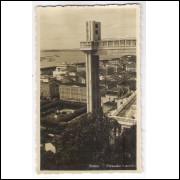 SA17 - Cartão postal antigo, Salvador, Elevador Lacerda.