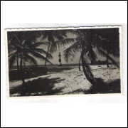 SA13 - Cartão postal antigo (1946), Bahia. Farol de Itapoan.