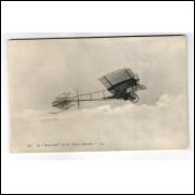 Postal Antigo, 85 La -Demoiselle- de M. Santos Dumont.  Aviação.