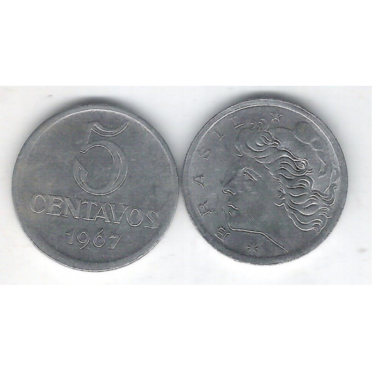 1967 - 5 Centavos, soberba.
