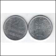 1977 - 20 Centavos, fc. Aço.