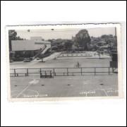 LN04 - Cartão postal antigo, 1956, Londrina, Country Club.