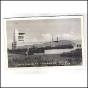 LN05 - Cartão postal antigo, 1956, Maltaria e Cervejaria Londrina S/A.