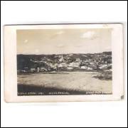 to03 - Cartão postal antigo, Teófilo Otoni -17- Vista parcial. Studio Foto Ideal Caratinga.