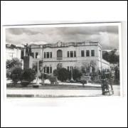 to05 - Cartão postal antigo, 1964, Teófilo Otoni, Colégio Estadual.