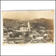 to12 - Cartão postal antigo, Teófilo Otoni, Igreja Matriz.