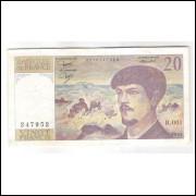 França - (P.151a) 20 Francs, 1980, mbc.