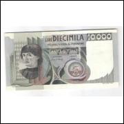 Itália - (P.106b) 10.000 Liras, 1980, mbc/s.