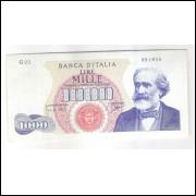 Itália - (P.96b) 1000 Liras, 14.01.1964, s/fe.