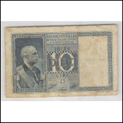 Itália (P.25) - 10 Lire, 1935.