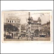RJ118 - Postal antigo 1924 Grande Hotel da Lapa, Rio de Janeiro.