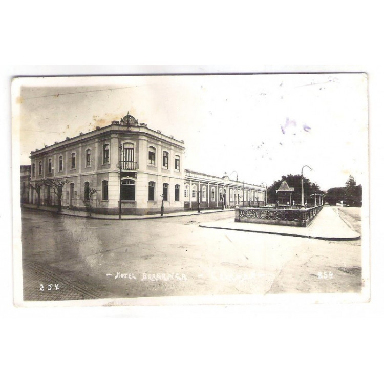 CX02 - Postal antigo, Hotel Bragança - Caxambú - Minas Gerais.