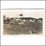 PR03 - Postal antigo, Paranaguá, Ponta do Cajú.