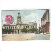 SA20 - Postal circulado em 1911, Câmara Municipal da Bahia.