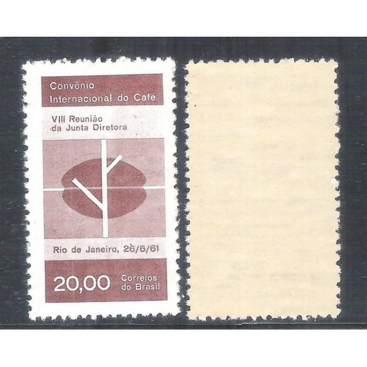 C-464Y - MARMORIZADO - 1961 - Convênio Internacional do Café. Agricultura.