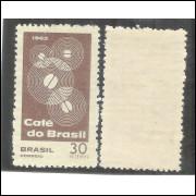 C-545Y - MARMORIZADO - 1965 - Propaganda do Café do Brasil. Agricultura.