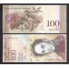 Venezuela (P.93) - 100 Bolívares 2013, fe. Simon Bolívar. Fauna, pássaros.