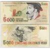 C239 - 5000 Cruzeiros Reais, 1993, soberba. Gaúcho.