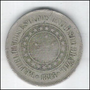 1894 - Brasil, 200 Réis, cuproníquel, bc.