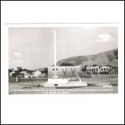 gv04 - Foto Postal Colombo - 9-Governador Valadares, Marco 20o Aniv. do Trabalho em favor do Brasil.