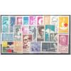 1963 - Coleção dos 22 selos comemorativos, novos.