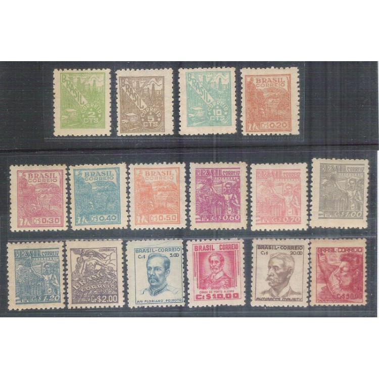 1946/1953 - 461/476 -  Série Netinha, nova com goma.