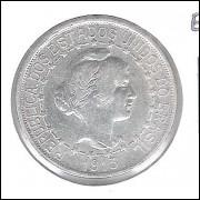 1913 - 1000 Réis, estrelas ligadas, prata, mbc/s, Brasil-República.