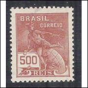 1924/32 - 224 -  Série Vovó, 500 Réis, filigrana  CASA DA MOEDA entre estrelas. Novo com goma,