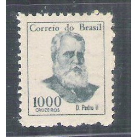 1966 - 525 -  1000 Cruzeiros, D. Pedro II, Novo com goma, MINT.