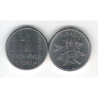 1981 - 1 Centavo, fc. Soja.