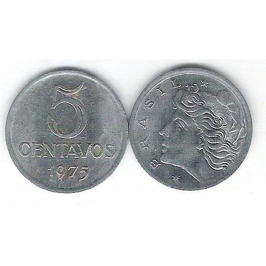 1975 - 5 Centavos, soberba.