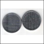 1983 - 1 Cruzeiro, fc. Aço. Cana de açúcar.