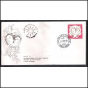 FDC-080 - 1975 - Natal. Carimbo comemorativo + 1o Dia - Santa Maria-RS