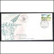 FDC-159- 1978 - Semana da Pátria. Carimbo 1o Dia + Comemorativo - Ribeirão Preto.