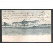 re46 - Postal circulado em 1905 Pernambuco, Casa de Detenção. Editor: Ramiro. Costa