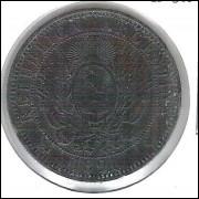 Argentina, 2 Centavos 1891, soberba,