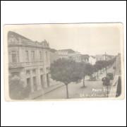 PG05 - Cartão postal antigo, Ponta Grossa, Av. Dr. Vicente Machado. Photo Weiss.