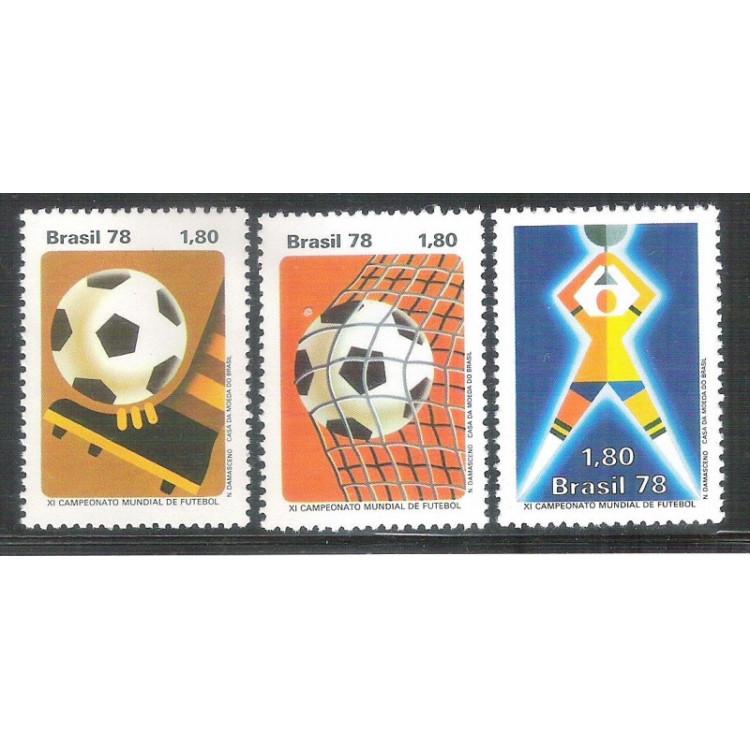 1978 - C-1030-32 - XI Campeonato Mundial de Futebol - Argentina. Copa do Mundo.